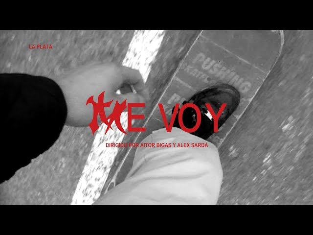 Vídeo oficial de Me Voy de La Plata