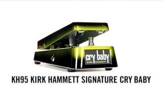 Kirk Hammett Signature Cry Baby Wah
