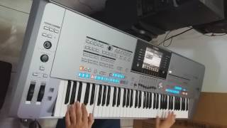 Estrada da vida - instrumental teclado Cover Arirrany  (Milionario & José Rico )