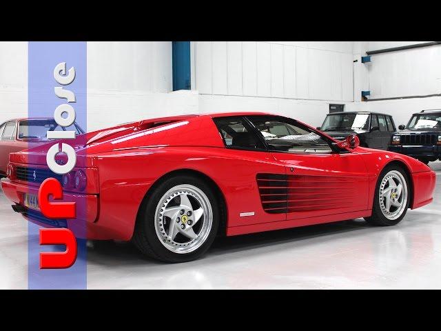 Up Close: Ferrari F512M