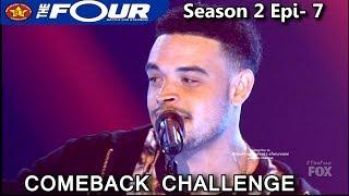 "Ebon Lurks sings ""Congratulations"" Comeback Challenge The Four Season 2 Ep. 7 S2E7"