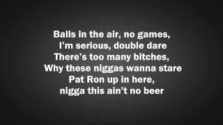 Tyga - Faded ft. Lil Wayne LYRICS