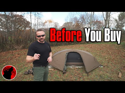 Too Complicated? - Catoma Stealth 1 Person Tent