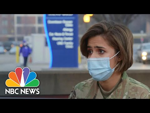 Dozens Of Air Force Nurses Arrive In North Dakota As Covid Surges | NBC News NOW