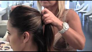 Simple Sweetheart Ponytail Hairstyle Tutorial
