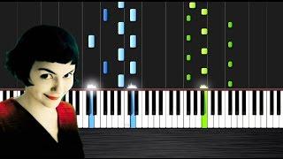 Yann Tiersen - Comptine d'Un Autre Été Piano Cover/Tutorial by PlutaX - Synthesia