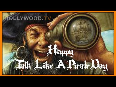 Tom Hanks celebrates Talk Like A Pirate Day - Hollywood TV