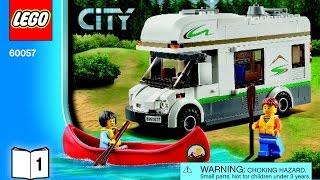 LEGO City Great Vehicles 60057 Camper Van instructions book (1 of 2)