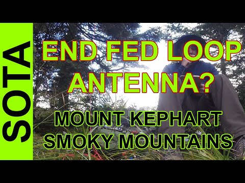 Ham Radio SOTA - Kephart Mountain Smoky Mountains National Park