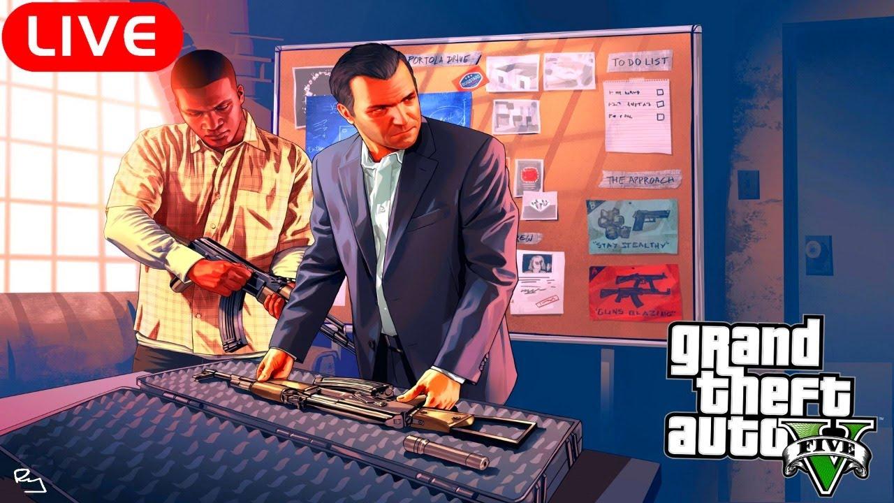 Ry Wilson - LIVE: Grand Theft Auto V Story Mode (Episode Twenty-One)