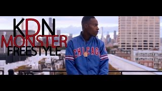 KDN- Monster Freestyle l Shot By @SavageFilms91