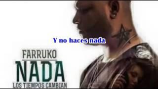 Farruko - Nada Letra