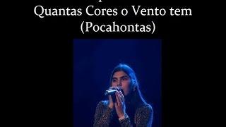 Filipa Gomes   Quantas Cores o vento Tem (Pocahontas)
