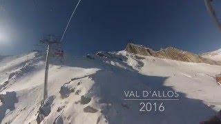 SKI 2016 Gopro Val d'allos