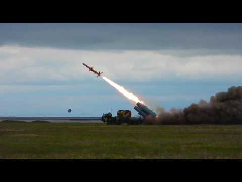 Watch a salvo launch of new Ukrainian R-360 cruise missiles