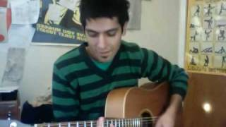 From the clouds - Jack Johnson cover