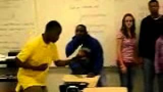 Travis Scott freestyling in class (Age 16)