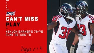 Kenjon Barner Takes It 78 Yds To The HOUSE!