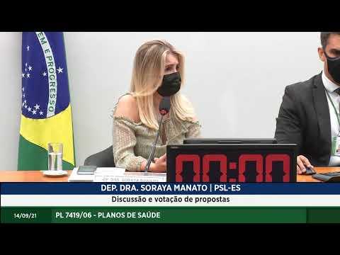 PL 7419/06 - Planos de Saúde - Discussão e votação de propostas - 14/09/2021