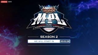 LIVE MPL Season 2  | 7 Juli 2018 | Mobile Legend Bang Bang Indonesia