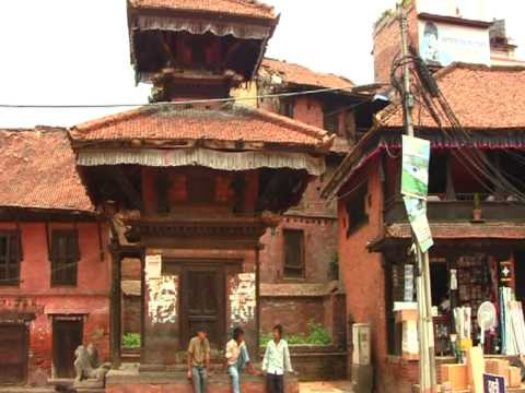 Durbar Square in Bakthapur, Nepal, round the world trip of David and Ronnie