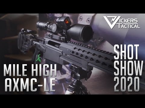 SHOT SHOW 2020 - Mile High AXMC-LE