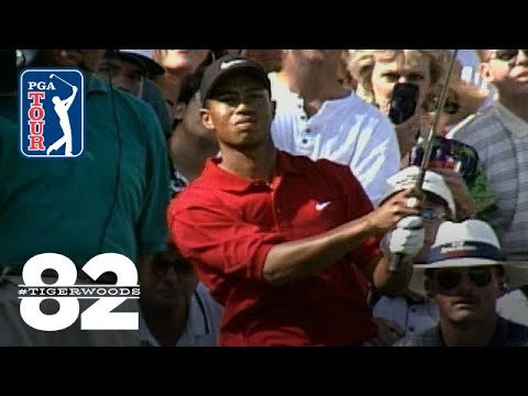 Tiger Woods wins 1997 GTE Byron Nelson Golf Classic Chasing 82