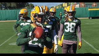 Packers rookie corners flash amazing hands