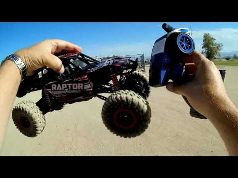 Theefun 1:12 Scale 4WD RC Crawler Car Test Drive Review