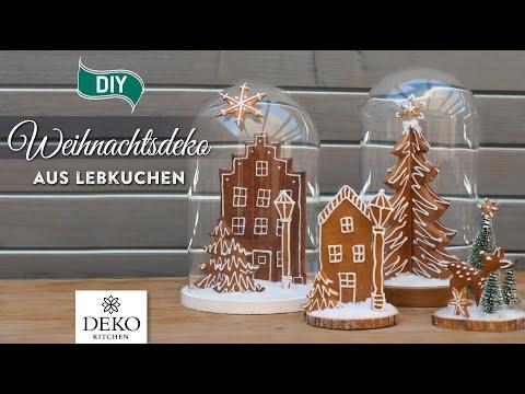 DIY: süße Weihnachtsdeko aus Lebkuchen selbermachen [How to] Deko Kitchen