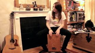 Porcelain by Moby(cajon drum cover)