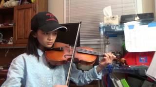 Silent Night; Gmax on Violin