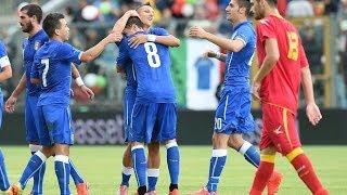 UNDER 21 Italia-Montenegro 4-0 (4 giugno 2014)