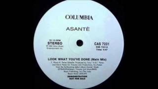 ASANTE Feat Fugees - Look what You've done (remix)