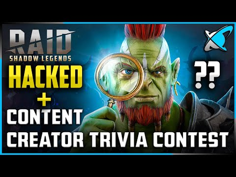 "RAID ""HACKED"" ?!?! | Content Creator Trivia Contest !! | RAID: Shadow Legends"