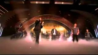 The Wanted - Chasing the Sun - Britains got talent 2012 Live Semi Final (Celebrity Performance)