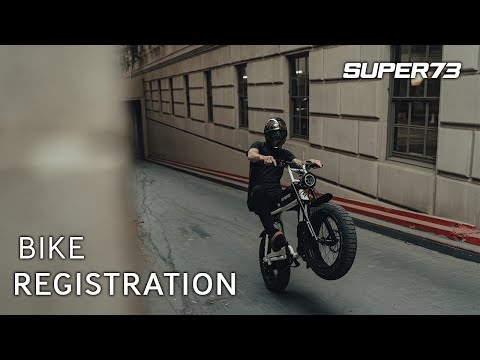 How To Register Your SUPER73