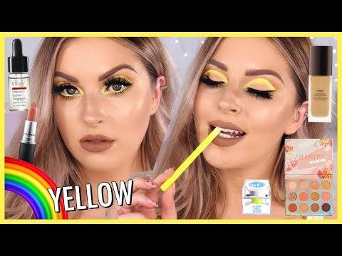 Neon YELLOW Eye Makeup ?? RAINBOW SERIES
