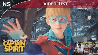 Vidéo-Test : Les Aventures Extraordinaires de Captain Spirit | Vidéo-Test PS4 (NAYSHOW)