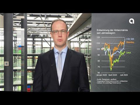 Aktienrally trotz Pandemie - Rückblick auf die Finanzmärkte im zweiten Quartal 2020