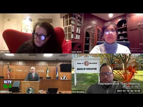 Representative Town Meeting, January 19, 2021