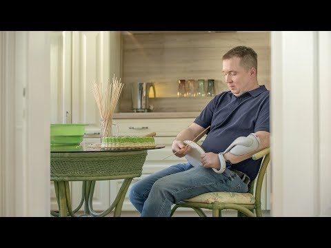 Stephans active lifestyle with forearm orthosis H200 Wireless
