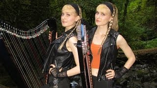 EYE OF THE TIGER (Survivor/Rocky III) Harp Twins - Camille and Kennerly HARP ROCK