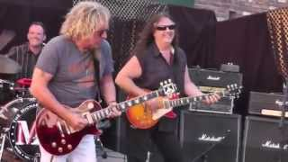 Michael Nitro Band - Hell's Train (Live) With Sammy Hagar!!! 2015