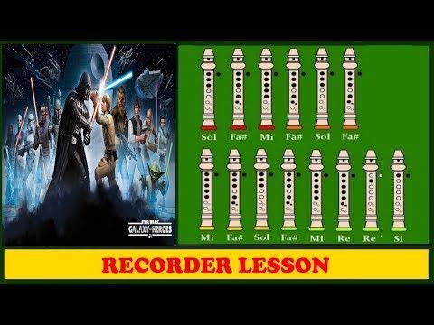 Comment jouer le générique de Star Wars à la flûte
