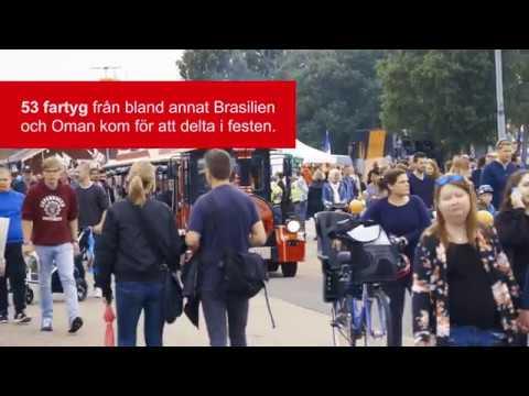 The Tall Ships Race 2017 i Halmstad