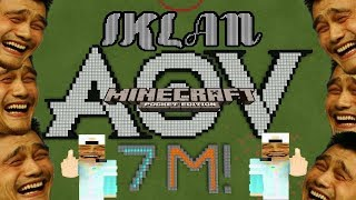 MCPE PARODY INDONESIA   IKLAN AOV by OTONG AND FRIENDS