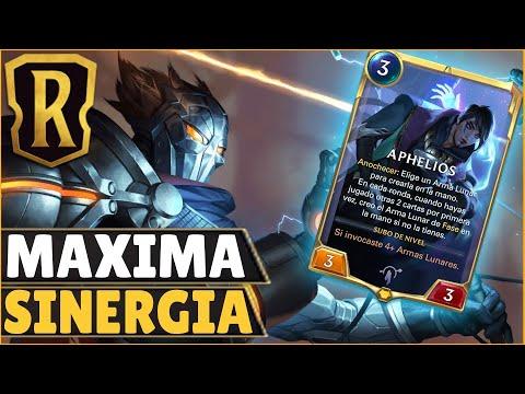CREACIONES LUNARES, VIKTOR Y APHELIOS LA ROMPEN   Legends of Runeterra