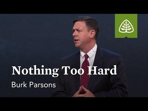 Burk Parsons: Nothing Too Hard