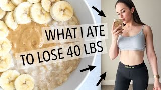 WHAT I EAT IN A DAY   WEIGHT LOSS MEAL PLAN FOR WOMEN